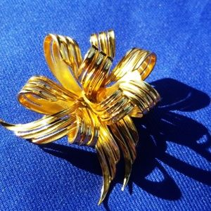 Vintage Christian Dior  Bow Brooch Pin Germany